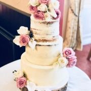 Naked Semi Naked Wedding Cakes 3